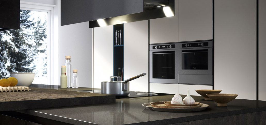 Piastrelle cucina moderna foto
